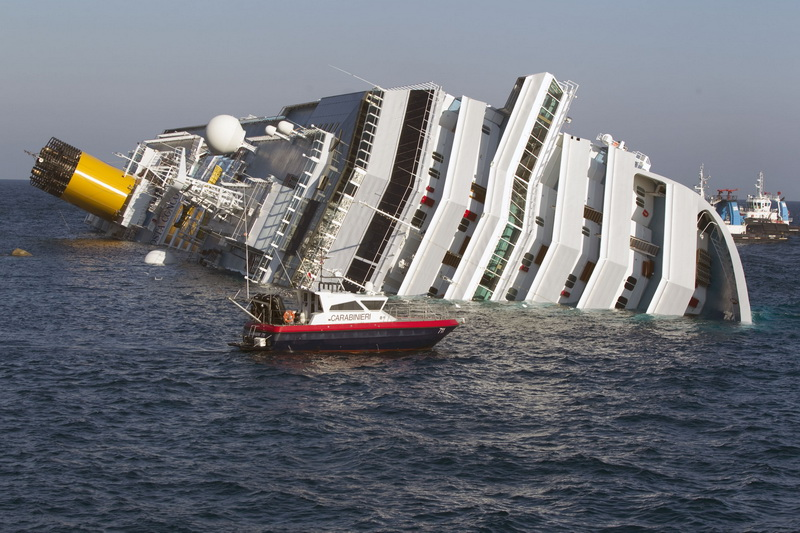 an analysis of the costa concordia event Costa concordia: italian tragedy that reflected state of a but that version of events did not withstand the scrutiny the costa concordia began to drift.