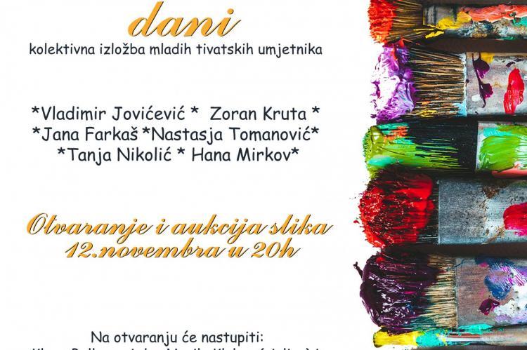 Izložba I Aukcija Slika Mladih Tivatskih Umjetnika Radio Dux